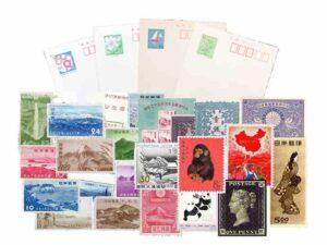ブランド品&金・プラチナ買取マートの切手とはがきの画像