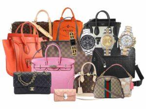 ブランド品&金・プラチナ買取マートのルイ・ヴィトンやシャネル、ロレックスなどのブランド品を買取した参考画像