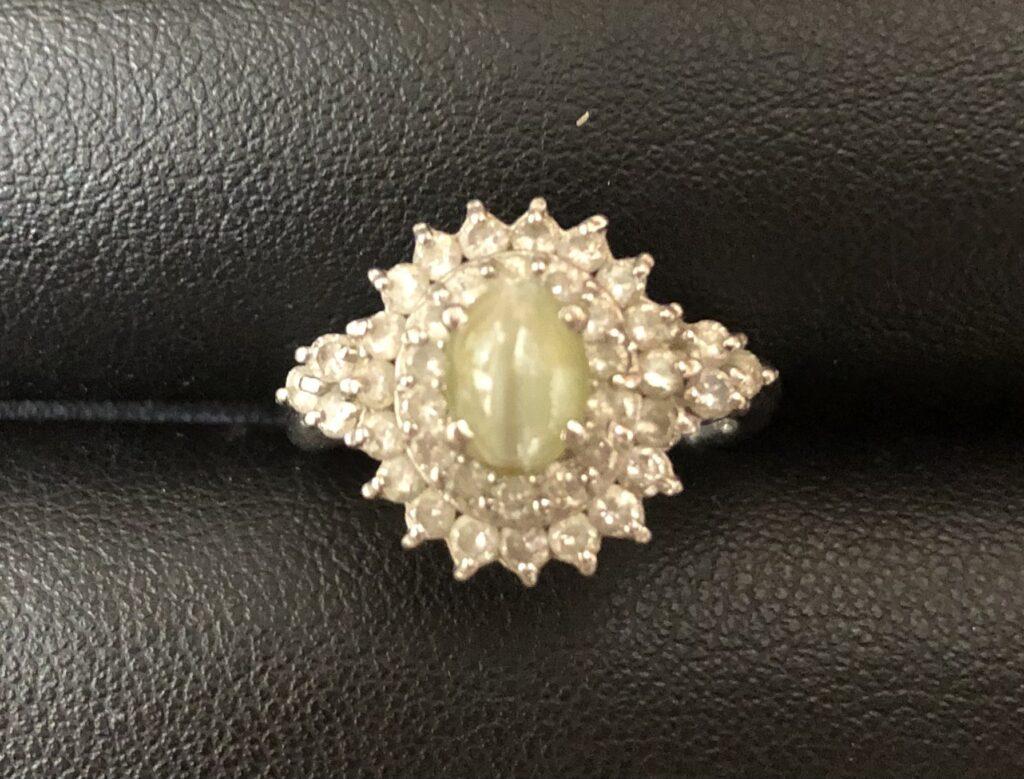 ブランド品&金・プラチナ買取マート岡崎店で買取したダイヤ付プラチナの指輪