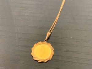 ブランド品&金・プラチナ買取マート豊田青木店で買取した18金製のネックレス
