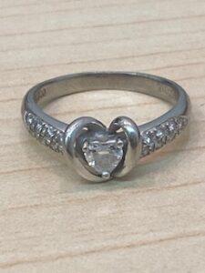 ブランド品&金・プラチナ買取マート豊明店で買取したPt900ダイアモンドリング