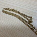 ブランド品&金・プラチナ買取マート豊田ギャザ店で買取した貴金属、18金喜平ネックレスです