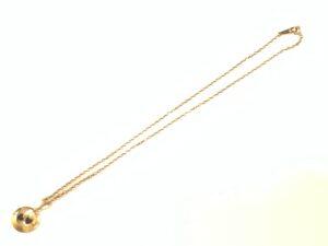 ブランド品&金・プラチナ買取マート豊田ギャザ店で買取したk1818金製デザインネックレス