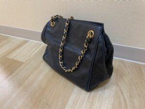 ブランド品&金・プラチナ買取マート豊田ギャザ店で買取したブランド品シャネルバッグです