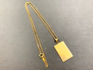 ブランド品&金・プラチナ買取マート豊田青木店で買取したK18のネックレス