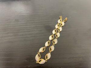 ブランド品&金・プラチナ買取マート豊田青木店で買取した貴金属、K18 Pt850ブレスレットです