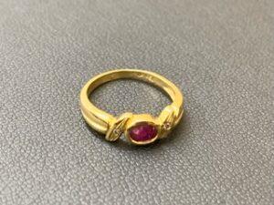 ブランド品&金・プラチナ買取マート豊田青木店で買取したK18のリング