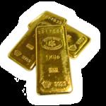 純金製の貴金属の金の延べ棒