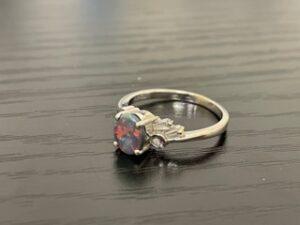 ブランド品&金・プラチナ買取マート豊田青木店で買取した貴金属、18金オパールリングです。