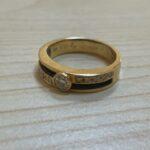 ブランド品&金・プラチナ買取マート豊田ギャザ店で買取した貴金属、18金ダイヤモンドリングです