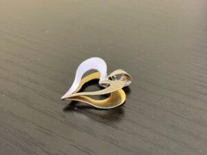 ブランド品&金・プラチナ買取マート豊田青木店で買取した貴金属、18金プラチナコンビトップです