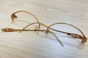 ブランド品&金・プラチナ買取マート豊田ギャザ店で買取した貴金属18金眼鏡