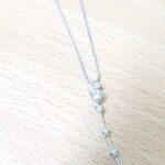 ブランド品&金・プラチナ買取マート岡崎店で買取した貴金属18金ホワイトゴールドダイヤモンドネックレス