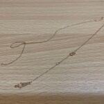ブランド品&金・プラチナ買取マート豊田ギャザ店で買取した貴金属、18金ネックレスです