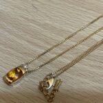 ブランド品&金・プラチナ買取マート豊田ギャザ店で買取した貴金属、18金シトリンネックレスです