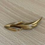 ブランド品&金・プラチナ買取マート豊田ギャザ店で買取した貴金属、18金ブローチです。