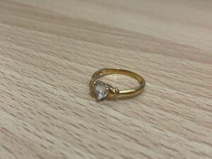 ブランド品&金・プラチナ買取マート豊田ギャザ店で買取した貴金属、18金リングです