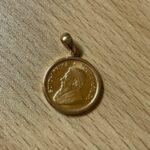 ブランド品&金・プラチナ買取マート豊田ギャザ店で買取した貴金属、22金ペンダントトップです