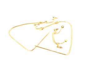 ブランド品&金・プラチナ買取マート豊明店で買取した18金製眼鏡フレーム