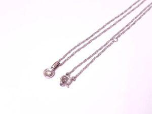 ブランド品&金・プラチナ買取マート岡崎店で買取したPT850、プラチナ製ダイヤモンド付きネックレス