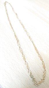 ブランド品&金・プラチナ買取マート岡崎店で買取した貴金属18金ネックレス