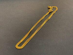 ブランド品&金・プラチナ買取マート豊田青木店で買取した貴金属18金製ネックレス