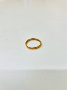 ブランド品&金・プラチナ買取マート豊田青木店で買取した貴金属:18金製デザインリング