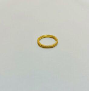 ブランド品&金・プラチナ買取マート豊田ギャザ店で買取した貴金属:18金デザインリング