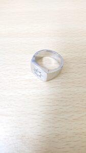 ブランド品&金・プラチナ買取マート岡崎店で買取した貴金属プラチナ850製ダイヤリング