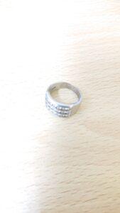 ブランド品&金・プラチナ買取マート岡崎店で買取した貴金属プラチナ900製デザインリング
