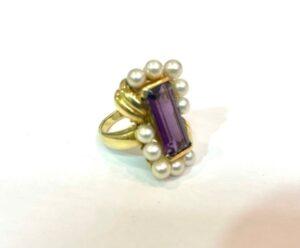 ブランド品&金・プラチナ買取マート豊明店で買取した18金製のリング