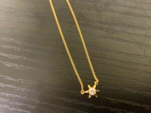 ブランド品&金・プラチナ買取マート豊田青木店で買取した貴金属:18金のネックレス