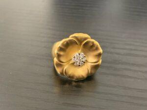 ブランド品&金・プラチナ買取マート豊田青木店で買取した貴金属:18金製のリング