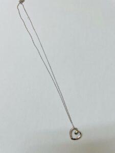 ブランド品&金・プラチナ買取マート岡崎店で買取した貴金属:18金ホワイトゴールドネックレス
